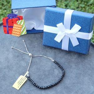 Jewelry - NEW Thai Black Spinel Crystal Bracelet